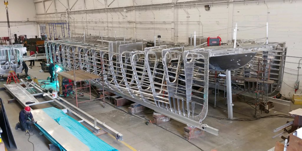 SWITCH Fuel Cell Ferry Boat Being Built