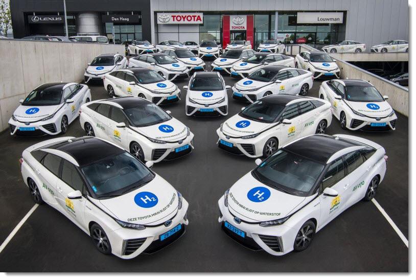Taxi Fleet in the Hague