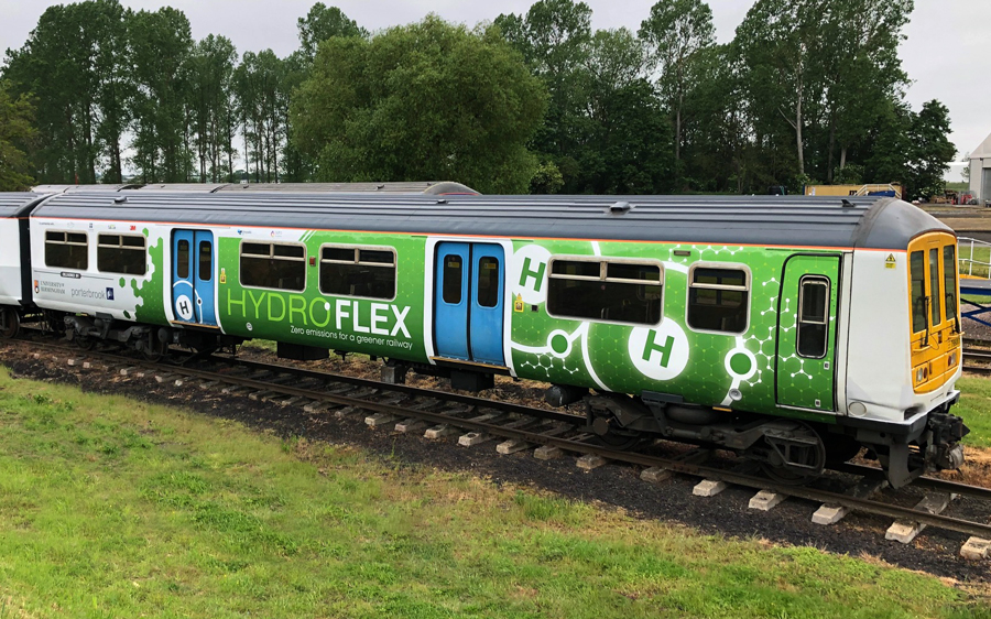 University of Birmingham Wins First of a Kind Funding for Hydrogen-Fuelled Train