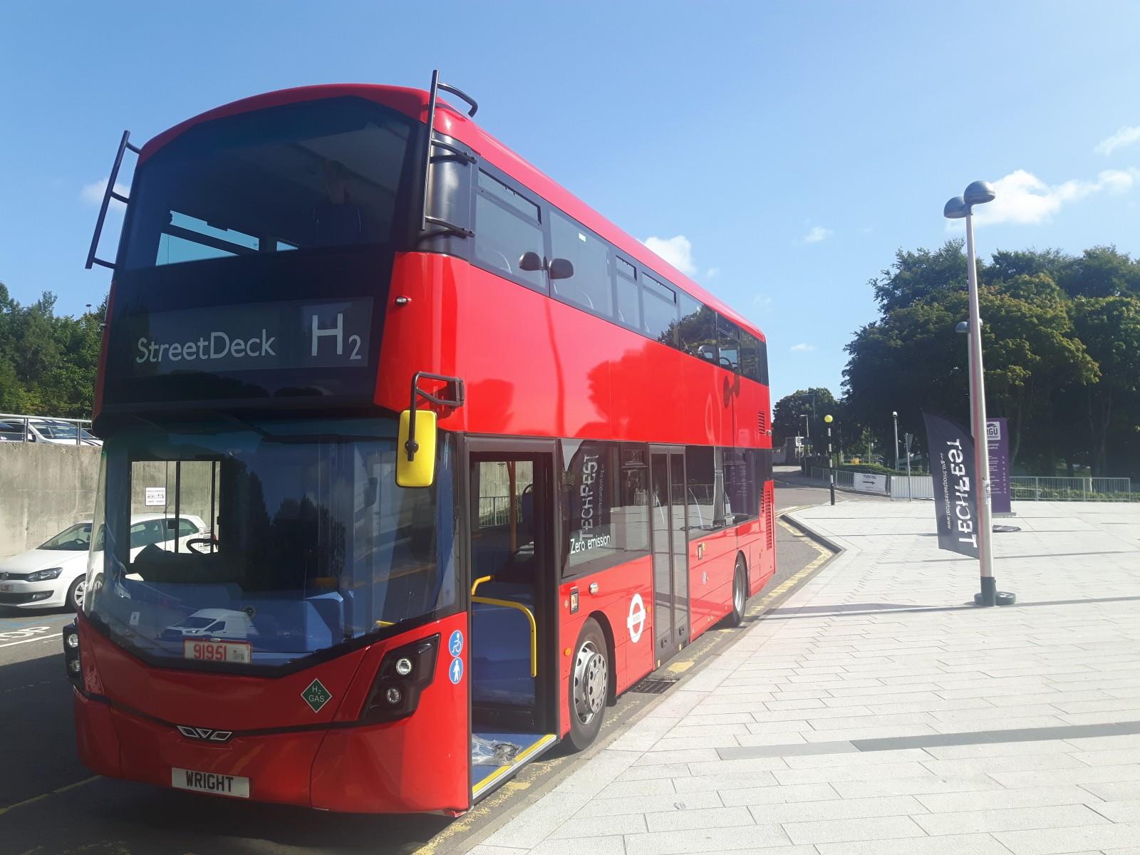 Aberdeen Double Decker Hydrogen Bus Addition