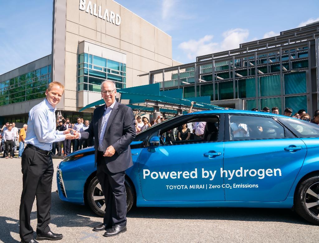 Ballard Power Purchases Toyota Mirais