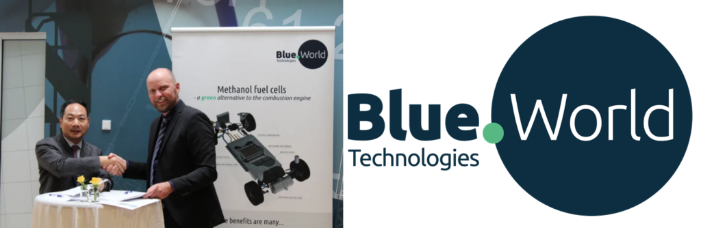 Blue World Technologies Signs Partnership Agreement for Intelligent Mass Production of Fuel Cells