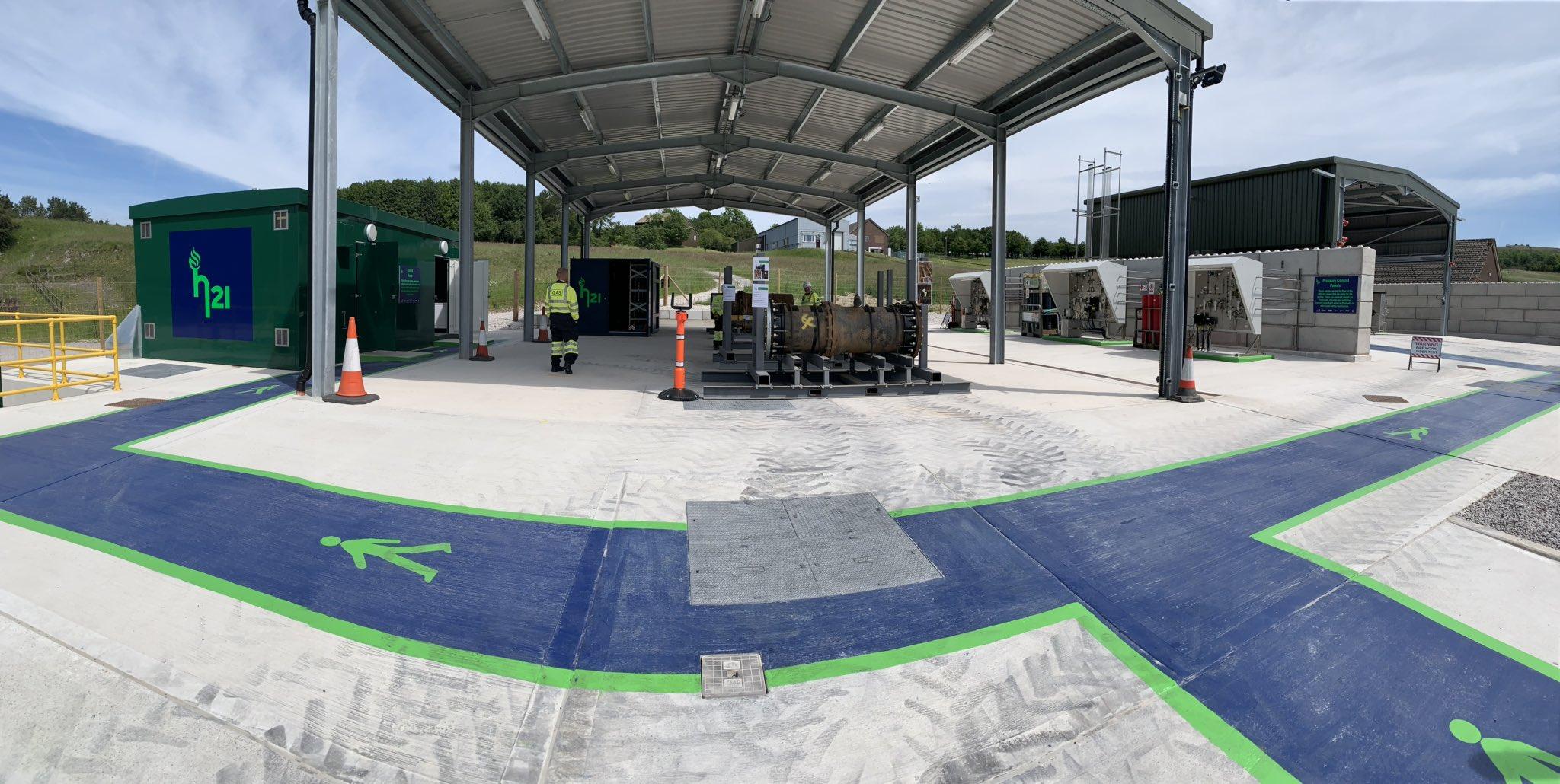 H21 Testing Center Opens main