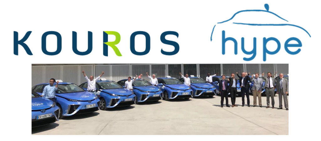 Kouros Group Invests in Hype Hydrogen Taxis