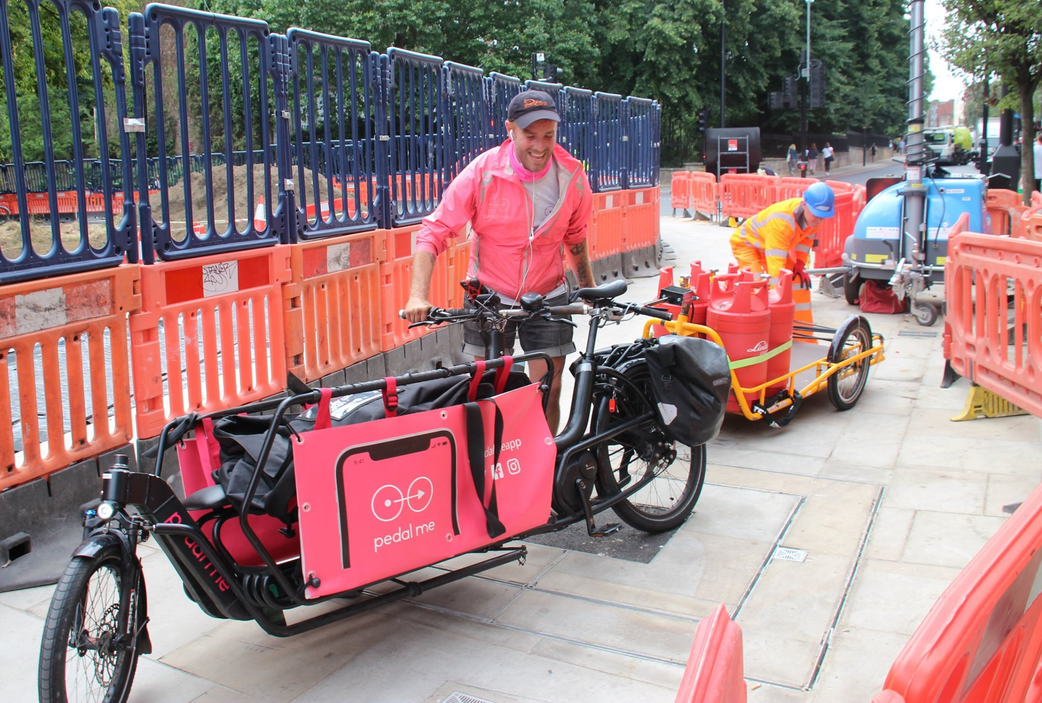Pedal Power Cargo TCP Delivery1
