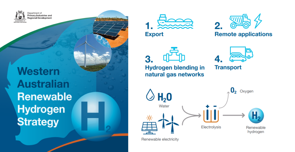 Course Set for Western Australia's Renewable Hydrogen Future