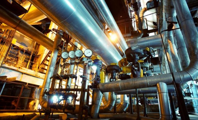 power to gas pipes