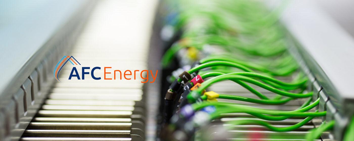 AFC ENERGY Banner