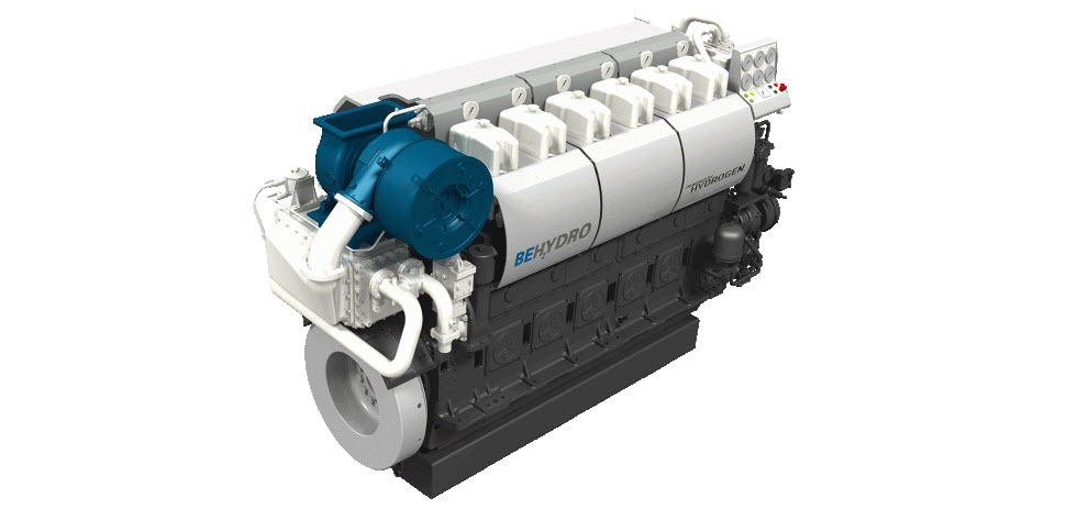 BeHydrogen Hydrogen Engine Main