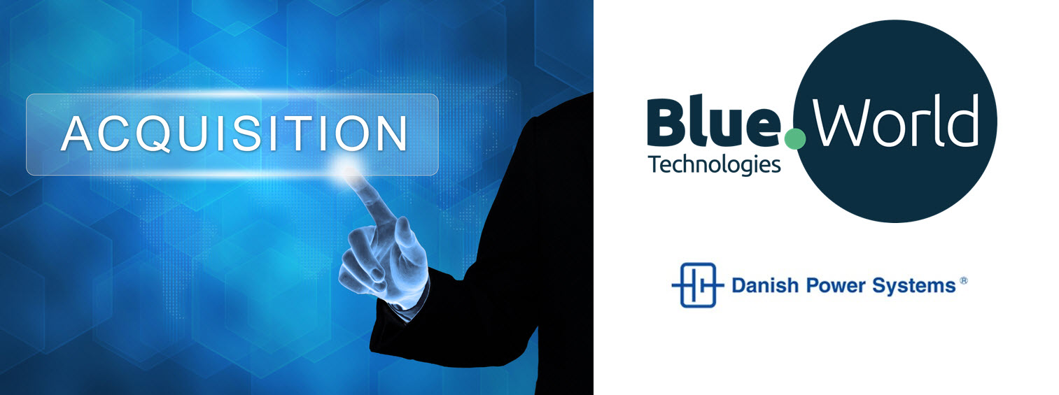 Blue World Acquires Portion of Danish Power Systems