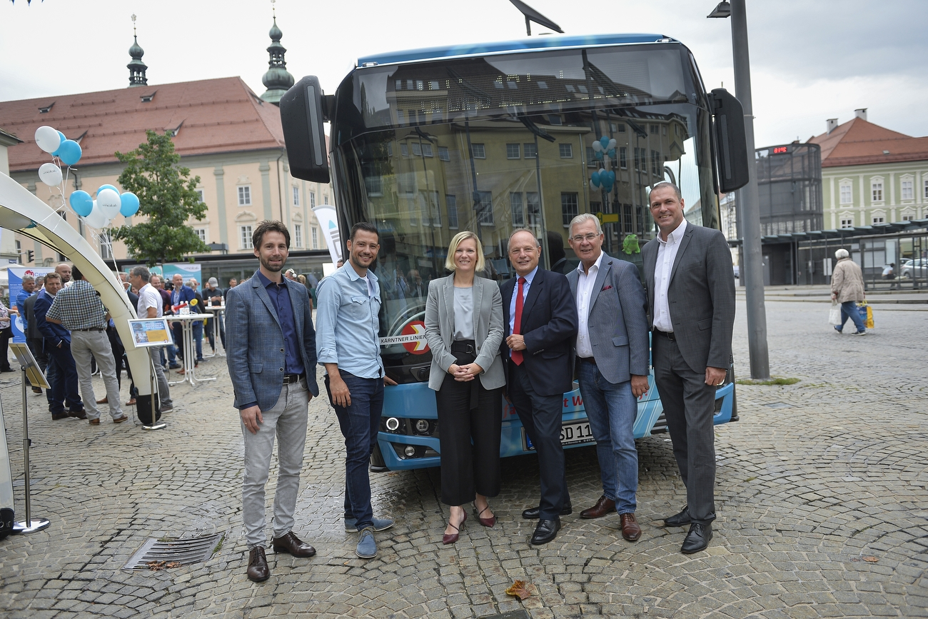Carinthia Fuel Cell Bus Testing 1