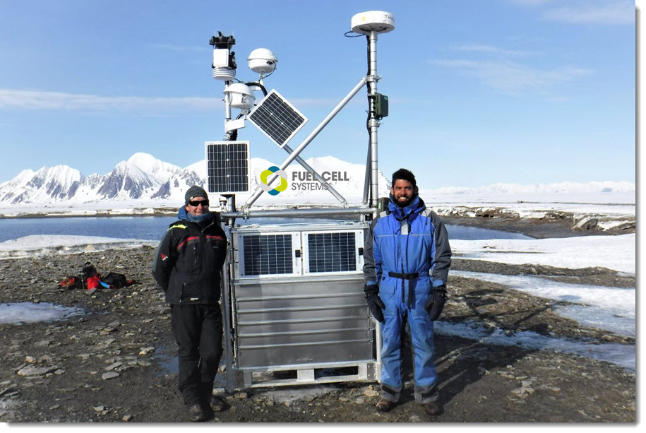 Fuel Cell in the Artic Main