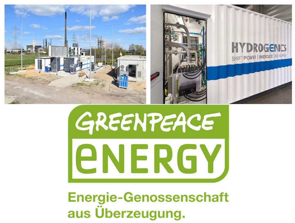GreenPeace Energy New Electrolyser Main