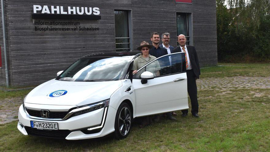 Honda Fuel Cell Biospehere Reserve2