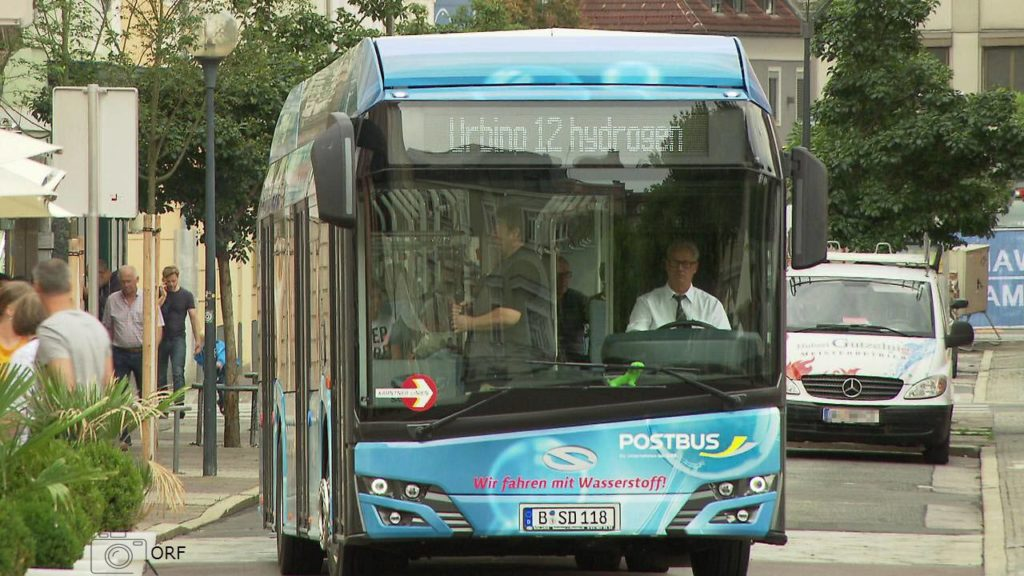 Hydrogen Bus Presented to the public in Klagenfurt3