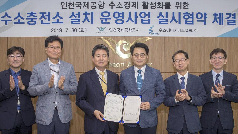 Incheon Hydrogen Station Signing Ceremony