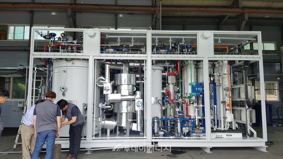 JK Heater Hydrogen Reformer
