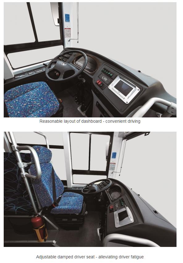 King Long Hydrogen Bus 2