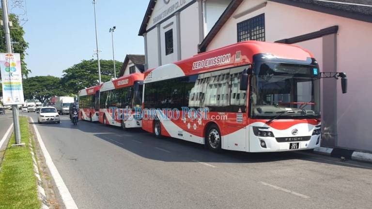 Malaysia Hydrogen Fuel Cell Bus Debut