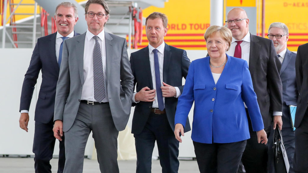 German Chancellor Angela Merkel Announces Hydrogen Strategy for Aviation