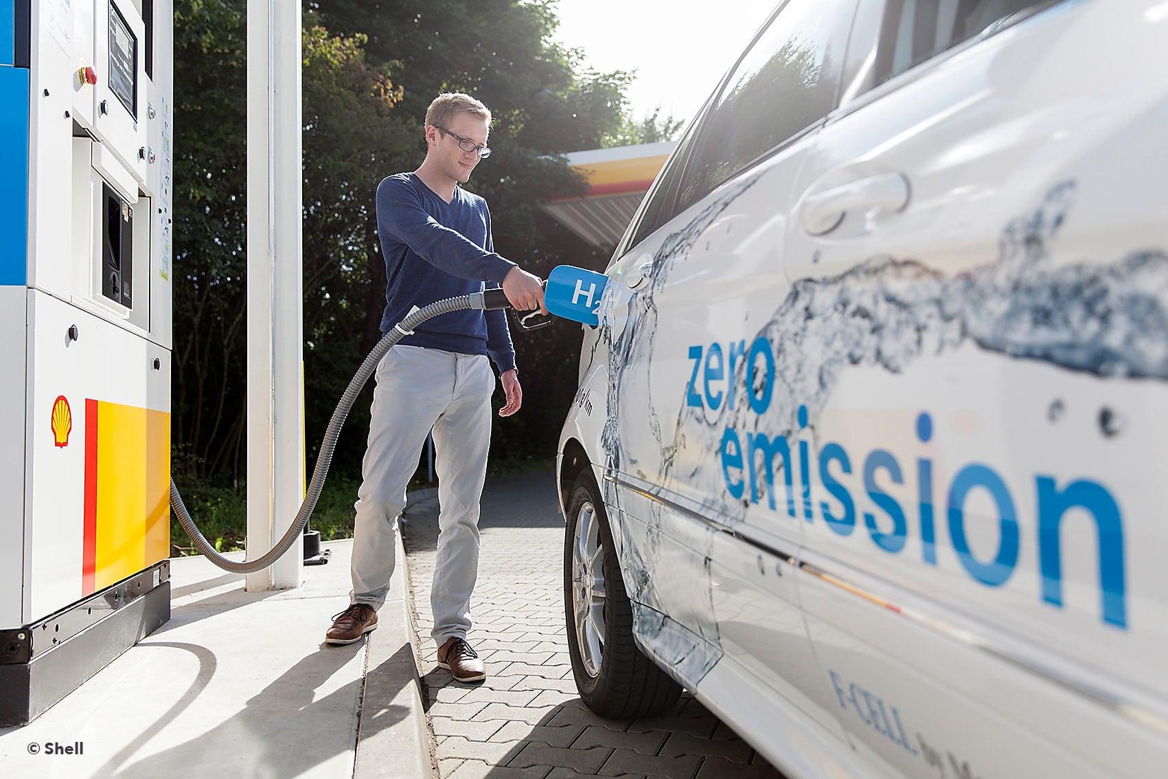 NPROXX hydrogen retail site wiesbade filling gas credit