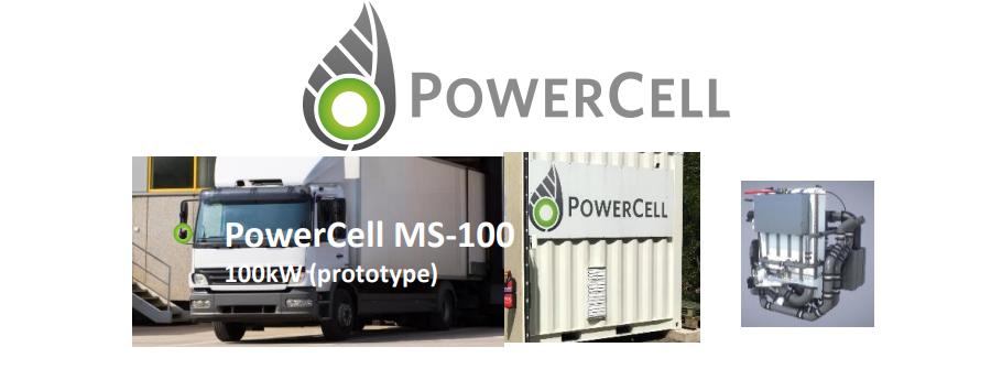 Powercell Unit for Medium Trucks