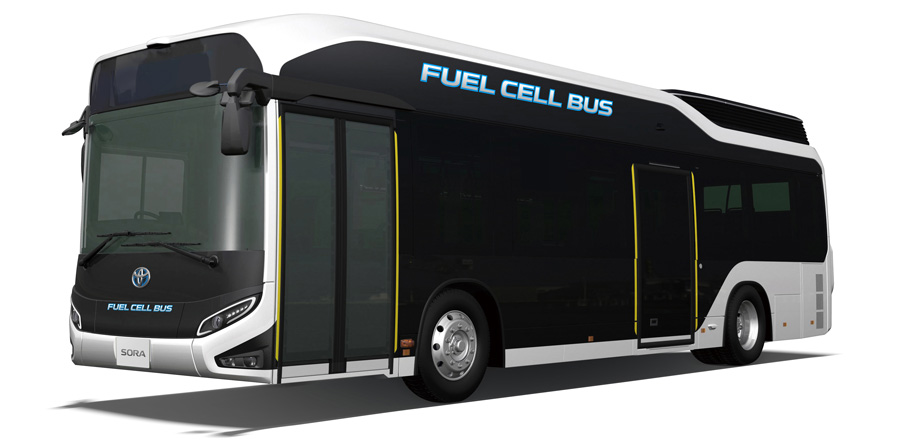 Sora Fuel Cell Bus 001