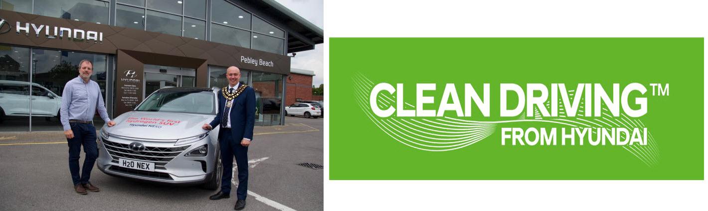 Swindon Mayor with Hyundai Fuel Cell