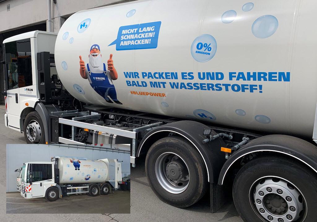 gelsendienste hydrogen garbage truck main