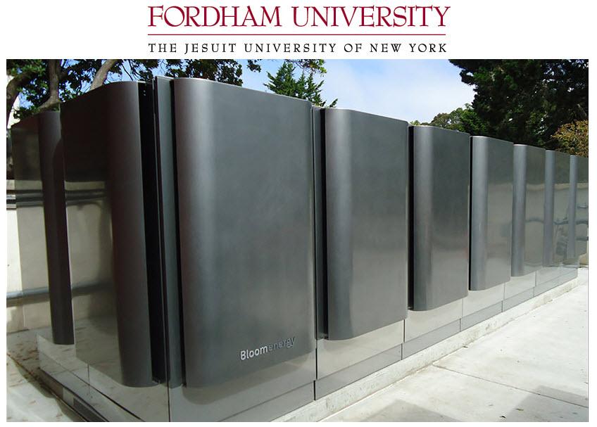 Bloom Energy Fordham University