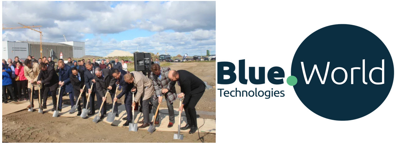 Blue World Groundbreaking Ceremony