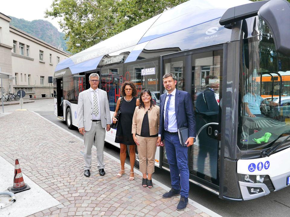 Bolzano Hydrogen Bus2