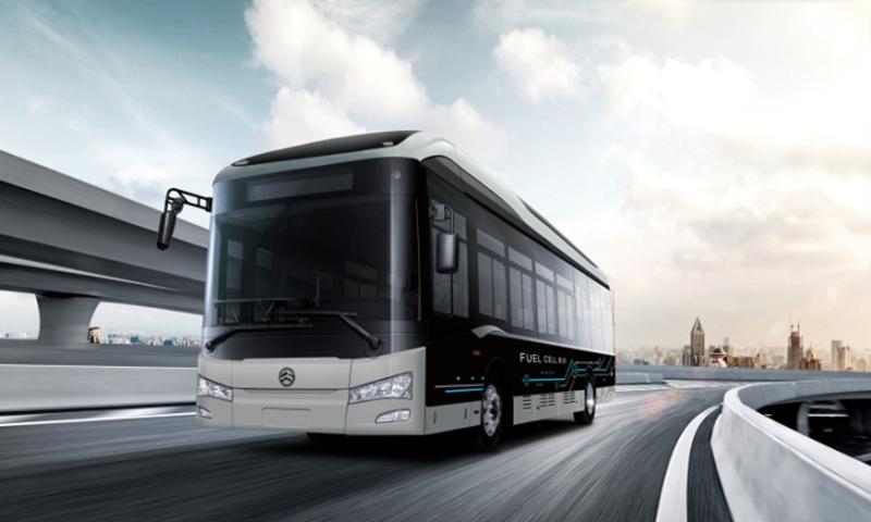 Golden Dragon Hydrogen Fuel Cell Bus 1