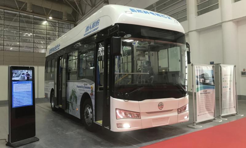 Golden Dragon Hydrogen Fuel Cell Bus 2