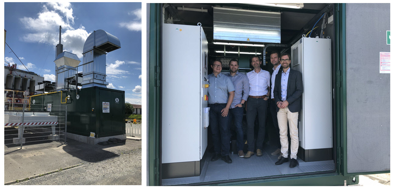 Hassfurt Successfully Commissions Hydrogen CoGeneration Plant into Operation Main