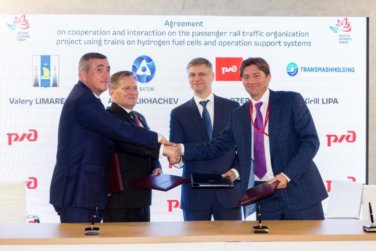 Hydrogen Trains in Russia