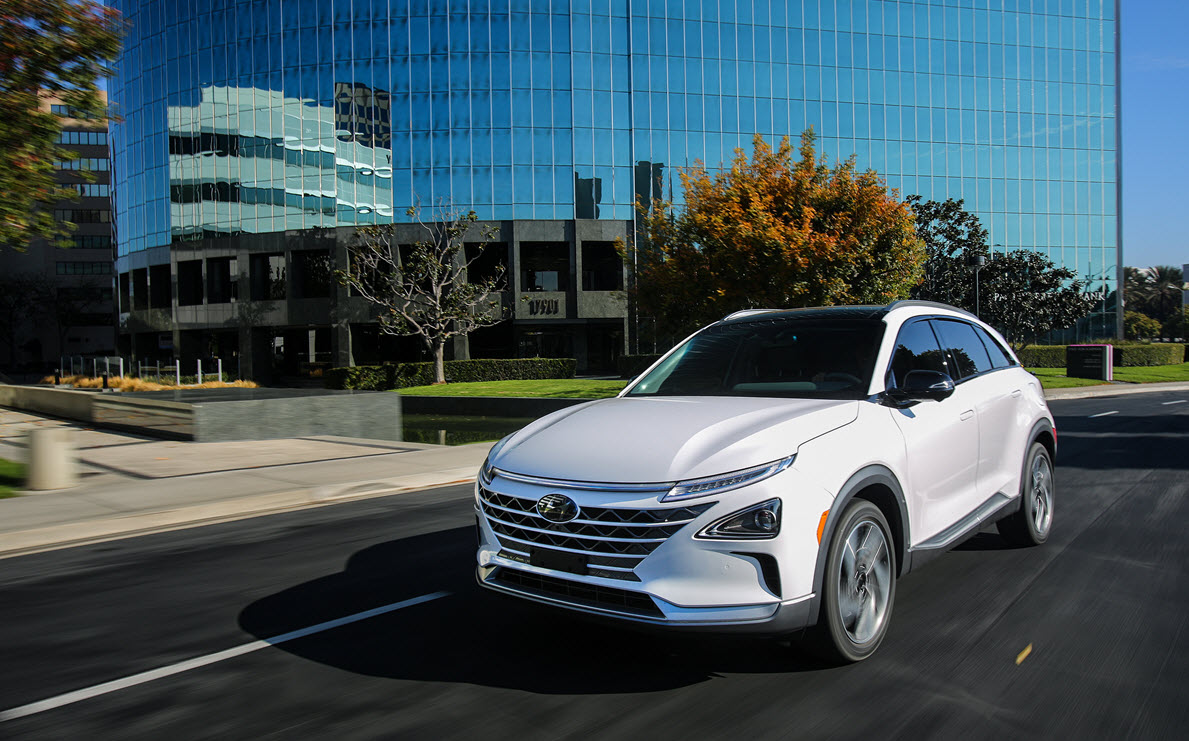 Hyundai Showcases Its 2020 Hyundai Nexo The Next Generation
