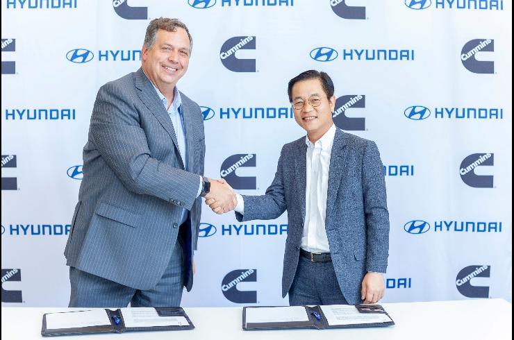 Hyundai Cummins MOU 1