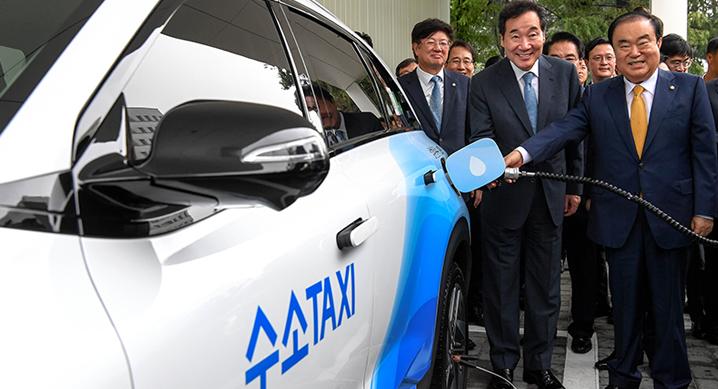 Hyundai Opens Hydrogen Station at Parliament 2