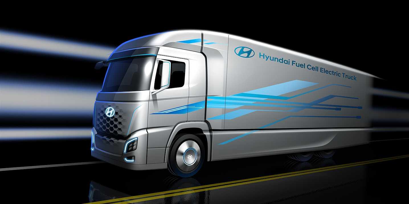 Hyundai FCEV Cargo Truck n