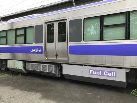 JR Testing New Hybrid Train2