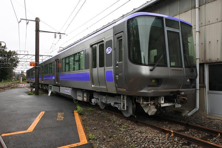 JR Testing New Hybrid Train3