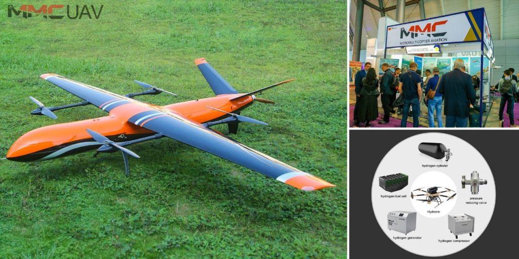 MMC UAV Hydrogen Drone Breaks New Record for Flight Time