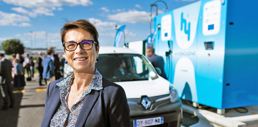 Michelin Hydrogen Station Sonia Artinian Fredou