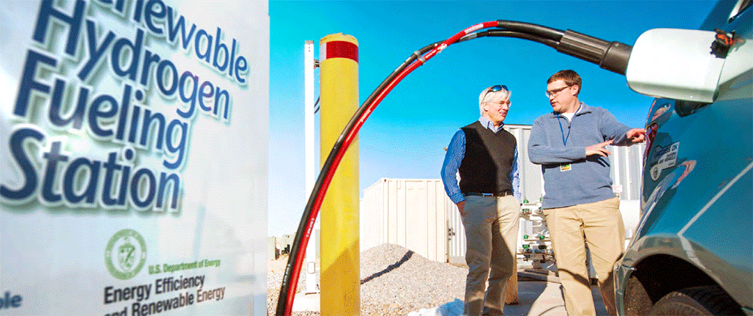 NREL Dedicates Advanced Hydrogen Fueling Station