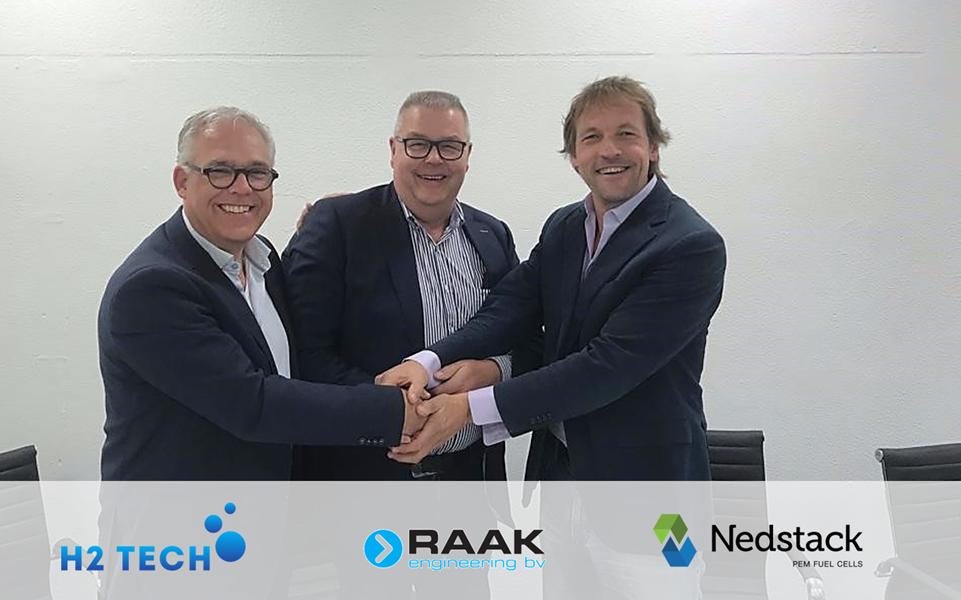 Nedstack H2 tech raak engineering agreement