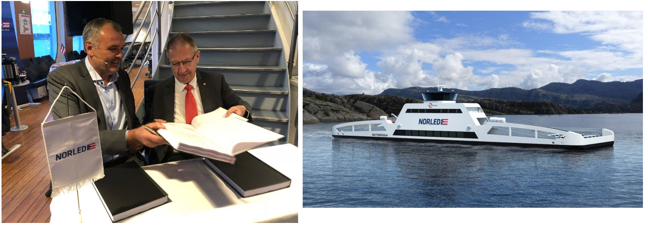 Norled Ferry Project Sign Off