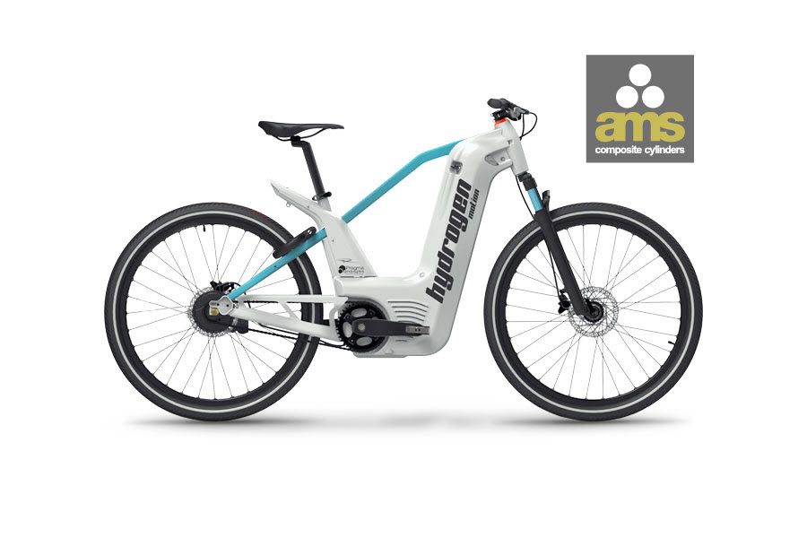 Pragma Hydrogen Bike AMS Cylinders