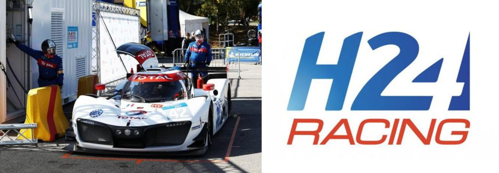 World First: MissionH24 Refuels at a Total Hydrogen Mobile Station at Spa-Francorchamps