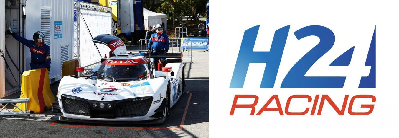 Total Refueling Mission H24 Hydrogen Race Car